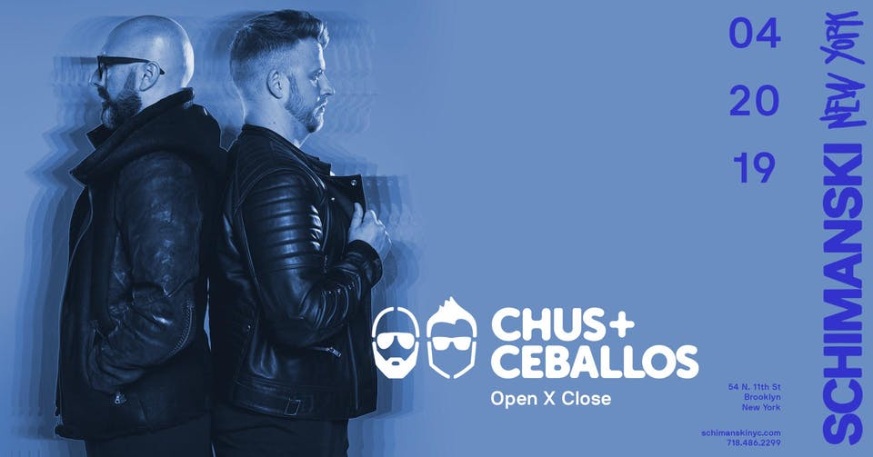 Chus & Ceballos -  open X close