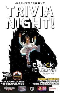 BoJack Horeman Trivia Night