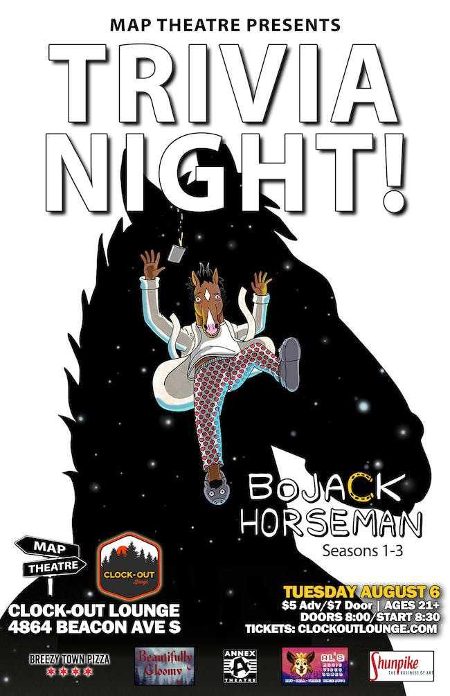 BoJack Horseman Trivia Night