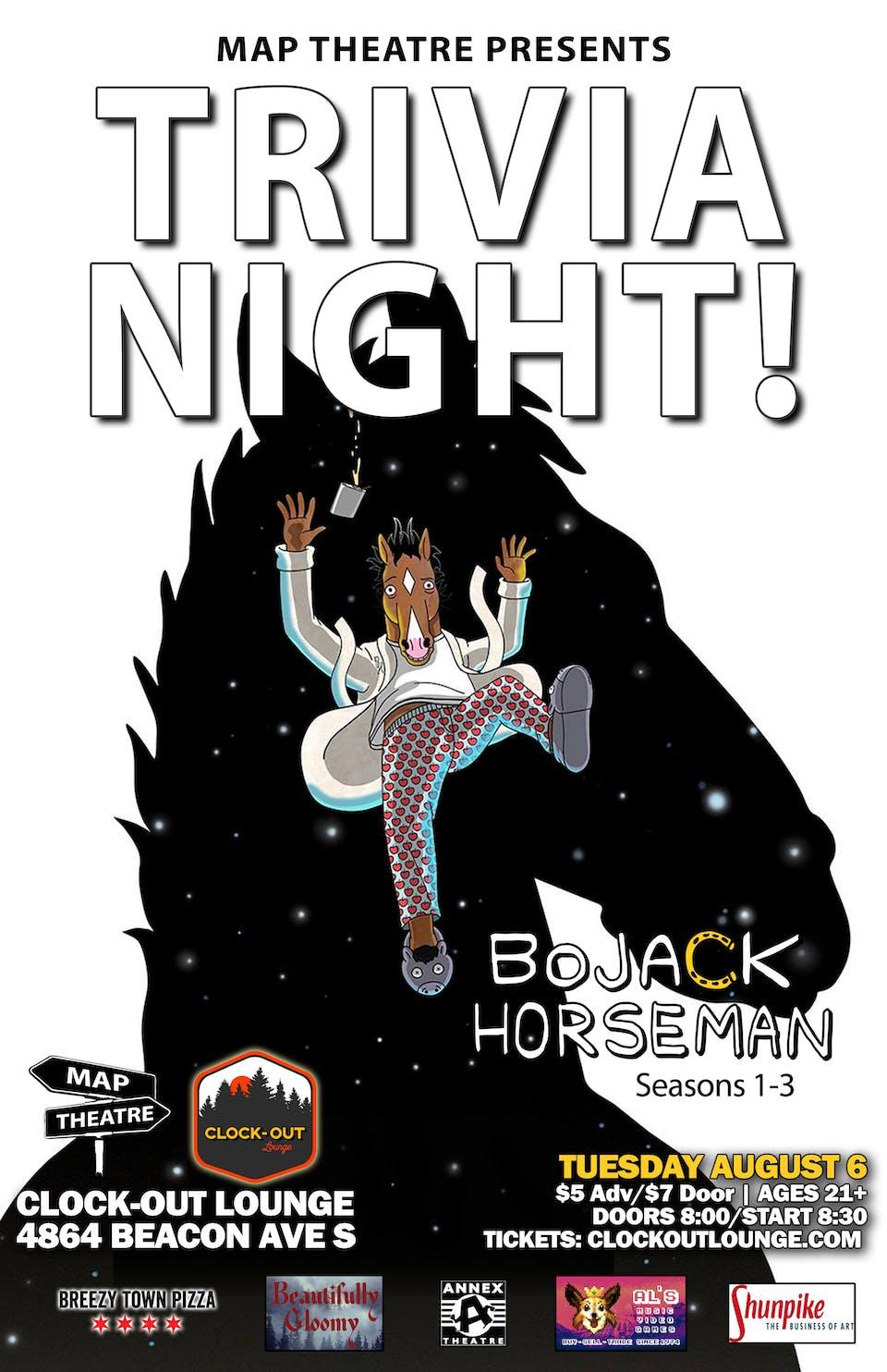BoJack Horseman Trivia Night
