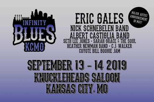 Eric Gales, Seth Lee Jones, Heather Newman Band, CJ Walker, Coyote Bill Boogie Jam Infinity Blues Show