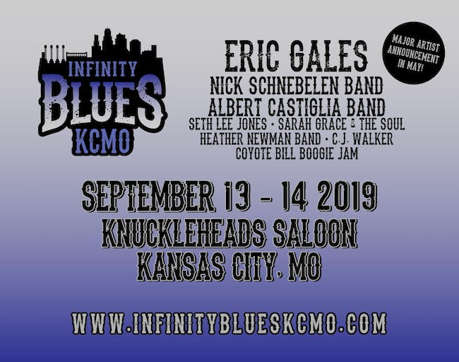 Eric Gales, Nick Schnebelen Band, Albert Castiglia Band, Seth Lee Jones, Sarah Grace & The Soul, Heather Newman Band, CJ Walker, Coyote Bill Boogie Jam