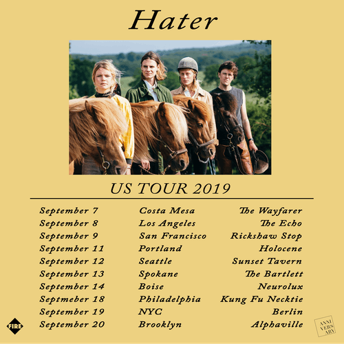 Hater w/  support from Sonoda and Starship Infinity