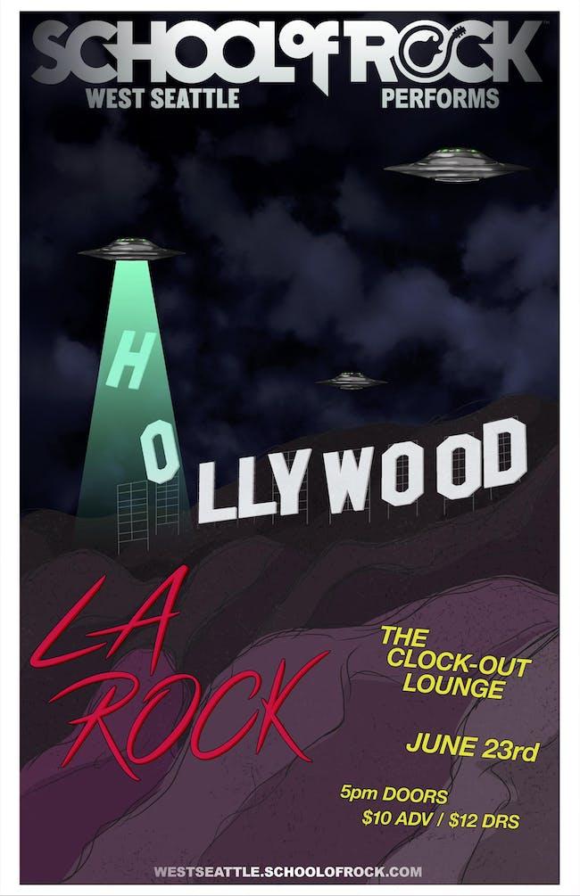 School of Rock performs LA Rock