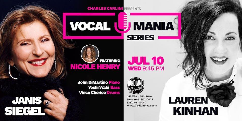 Jazz Vocal Mania Series