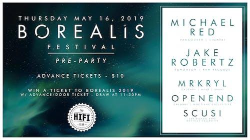 Borealis Festival Pre Party: Calgary