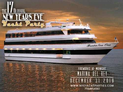 728e15176370 New Year's Eve Yacht Party – Los Angeles – Tickets – Fantasea One ...