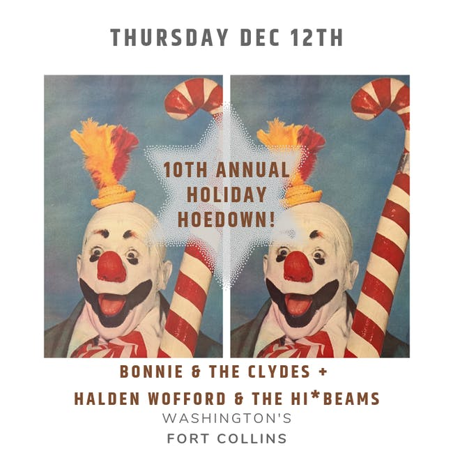Bonnie & the Clydes and Halden Wofford & the Hi*Beams