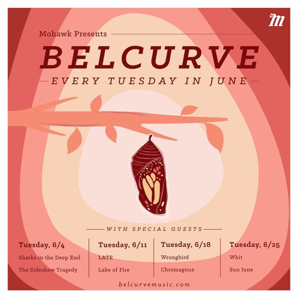 Belcurve with Megafauna, Wrongbird @ Mohawk (Indoor)