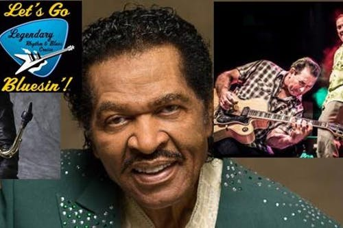 Bobby Rush and his band, The Paladins, and Vanessa Collier  Day 2 of the Blues Cruise Reunion