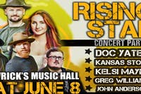 Doc Yates RISING STAR Concert Series - Postponed (New Date TBA)