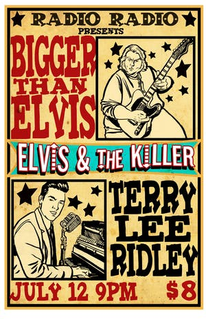 Elvis & The Killer TICKETS AT THE DOOR