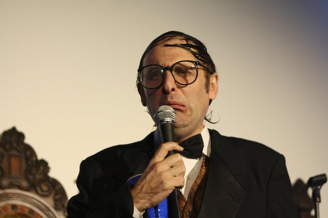 Neil Hamburger with Major Entertainer