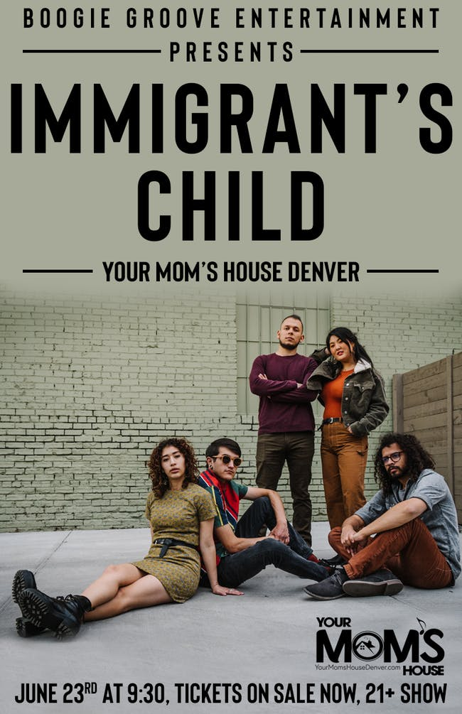 Immigrant's Child with the Huffy Boys at Your Mom's House