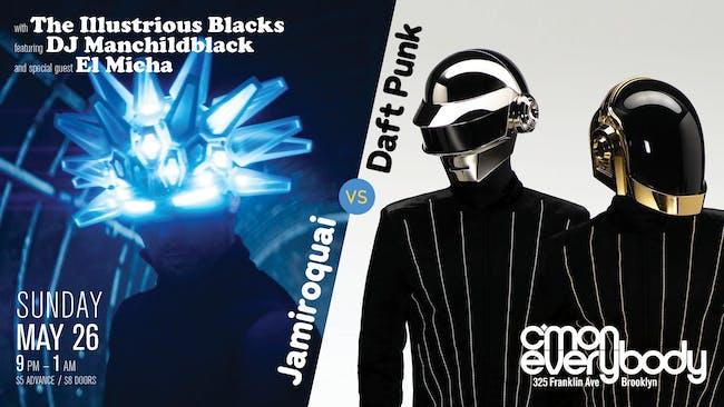 Jamiroquai vs Daft Punk