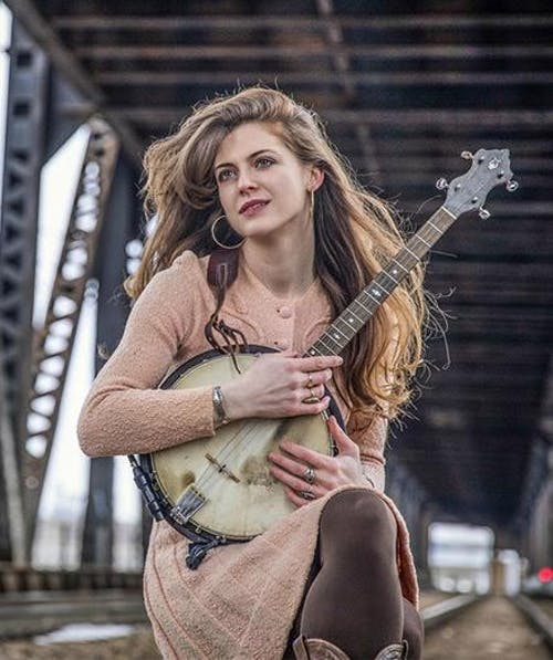 Kelly Hunt (banjo) & Stas