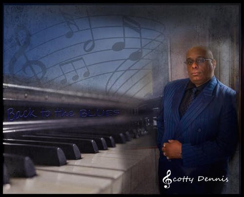 Scotty Dennis Back To The Blues album release