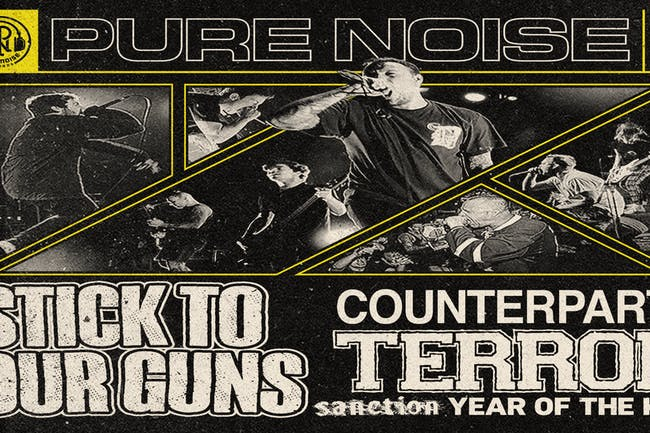 Stick To Your Guns - Revolver Presents The Pure Noise Tour