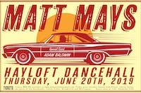 Matt Mays w/ special guest Adam Baldwin