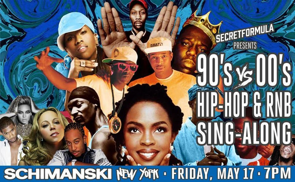 90's vs 00s Hip Hop & RnB Sing-Along