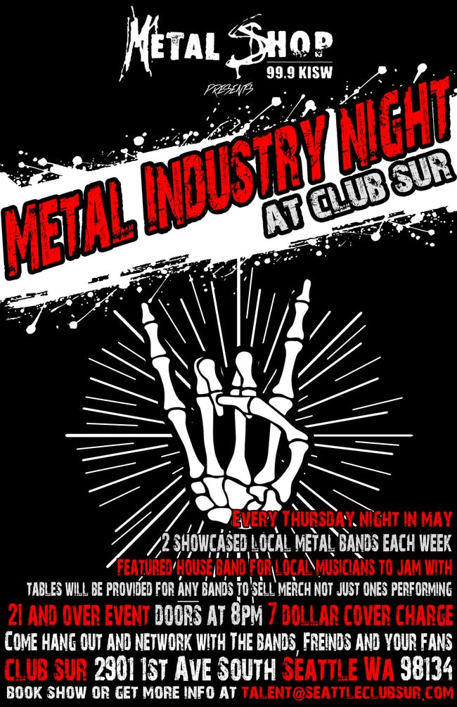 Metal Industry Night w/ Lost Eyedentity / Voodoo DeathGun /DJ Starr