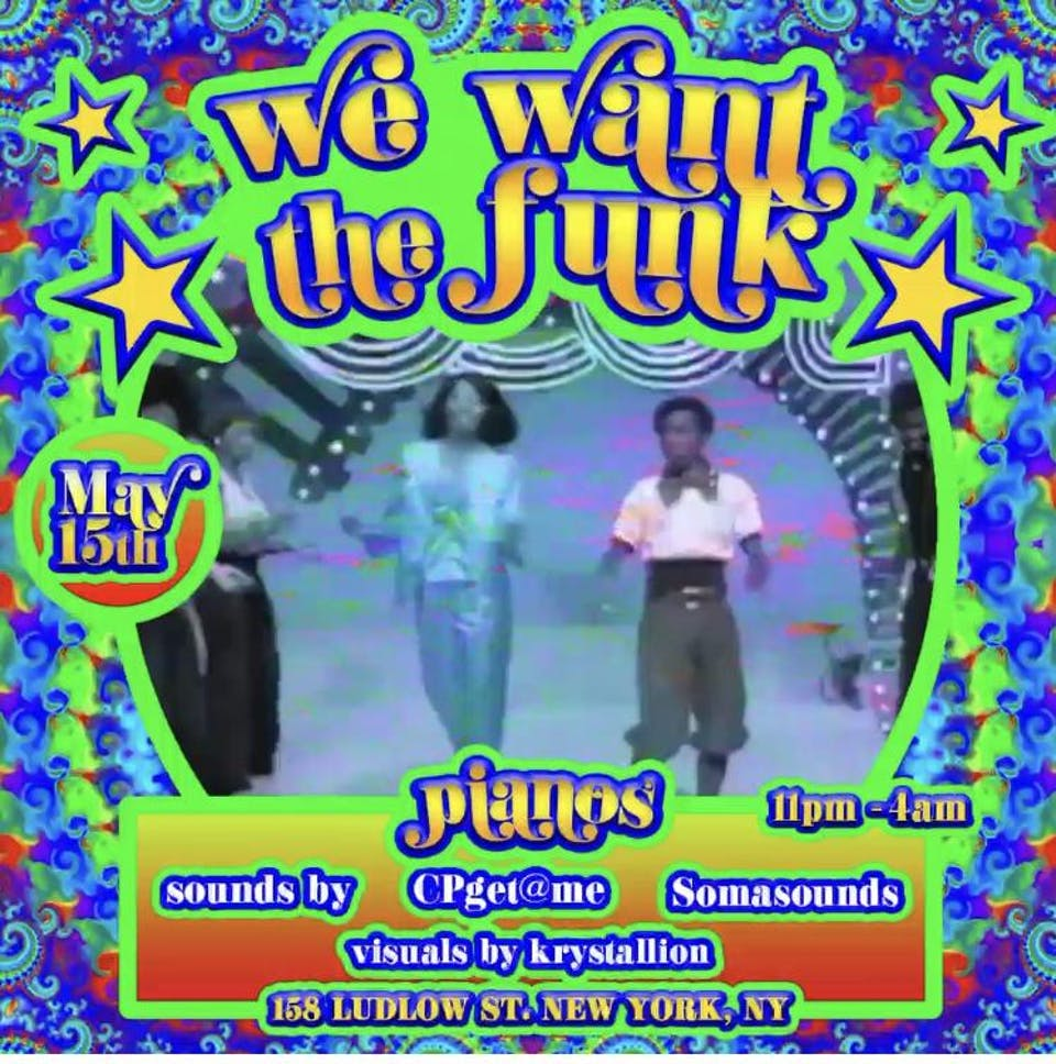 We Want The Funk DJ Set , Monica Bang, Crocodyle