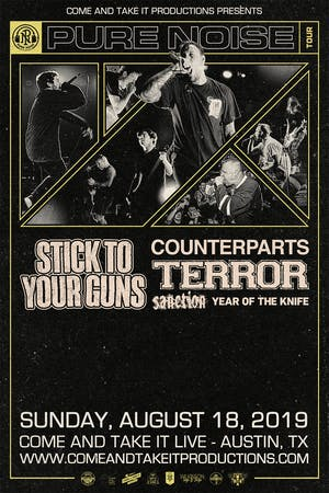 STICK TO YOUR GUNS: Revolver Presents the Pure Noise Tour
