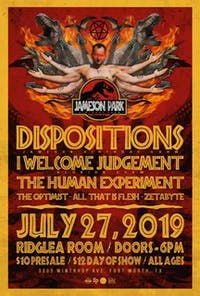 Dispositions, I Welcome Judgement, The Human Experiment & more in the Room