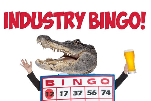Industry Bingo @ The Back Bar