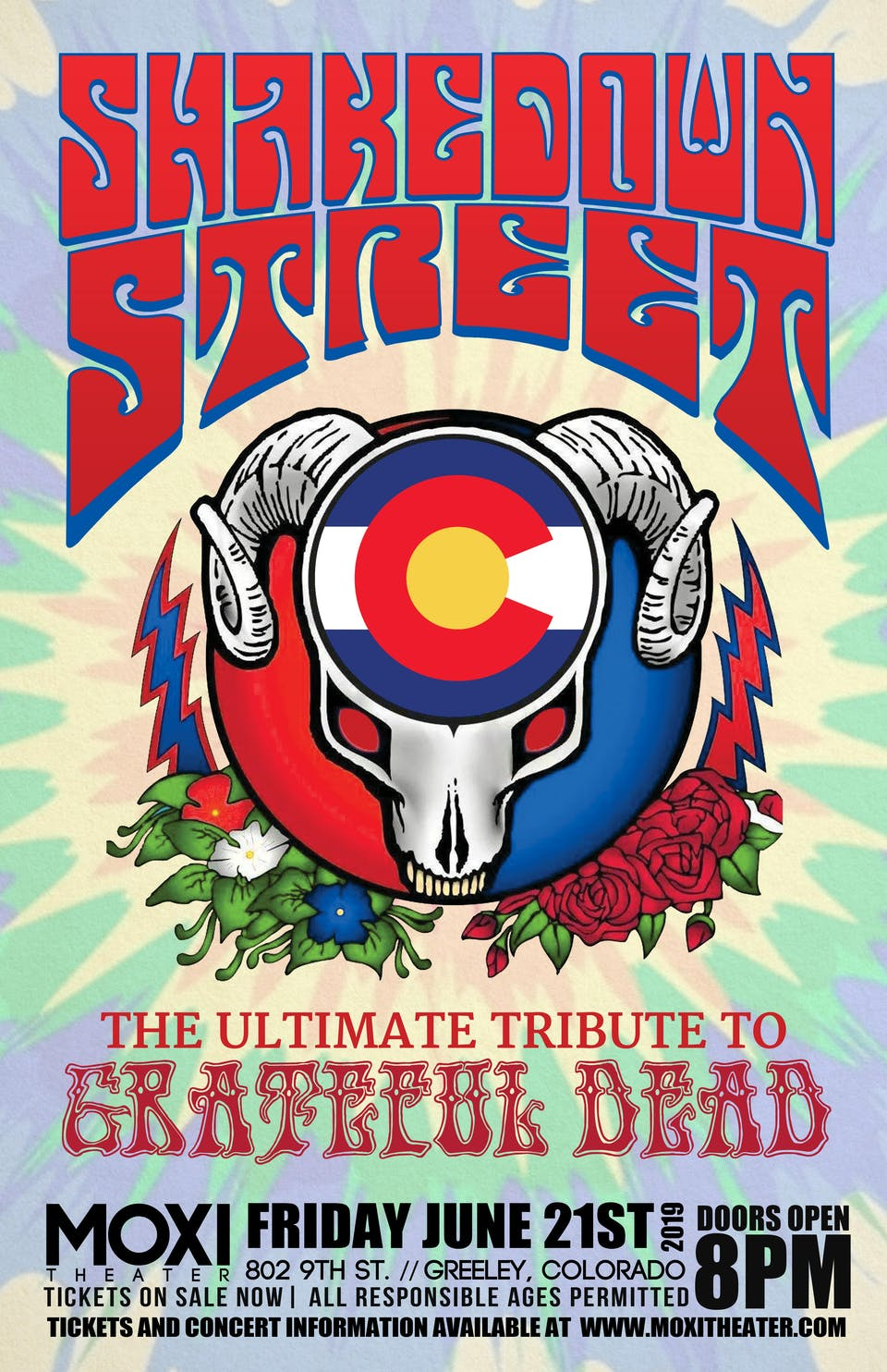 Shakedown Street - Tribute to The Grateful Dead