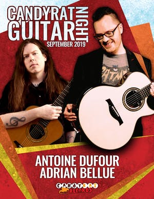 Antoine Dufour and Adrian Bellue TIX AT DOOR