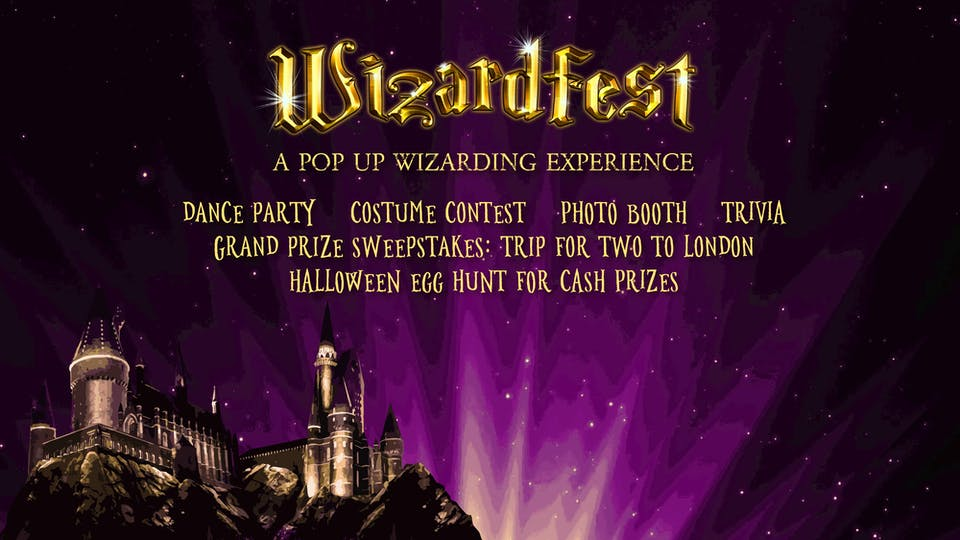 Wizardfest-A 'Harry Potter' themed Pop-Up Party