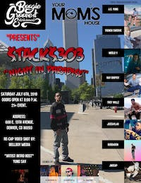 """$tack$303 """"Night in Paradise"""" feat. 12 local artists at YMH"""