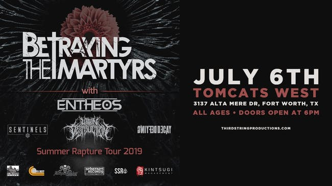 Betraying The Martyrs at Tomcats West