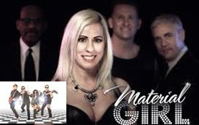 Material Girl and the M80's - 80's Ladies Night