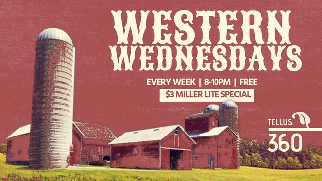 Country Western Wednesday w/ The National Reserve