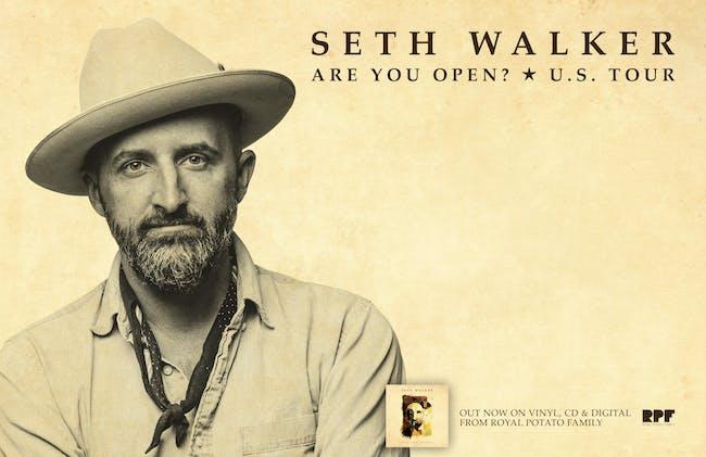 Seth Walker in the Gospel Lounge