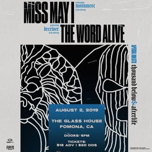 Miss May I with The Word Alive