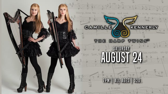 """The Harp Twins """" Camille & Kennerly"""""""