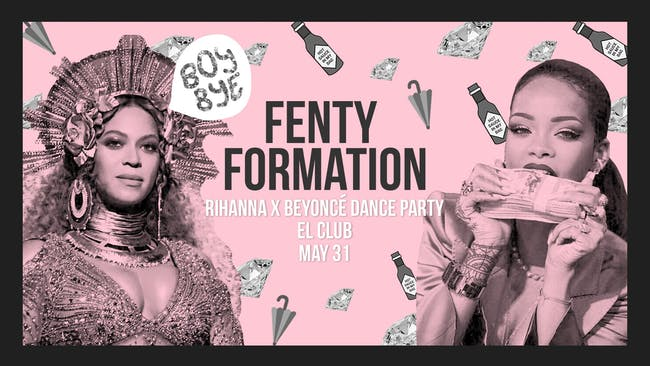 Fenty Formation: Rihanna X Beyoncé Dance Party