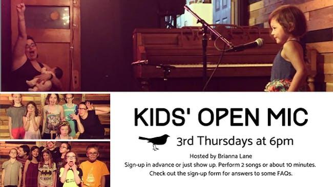 Kids' Open Mic