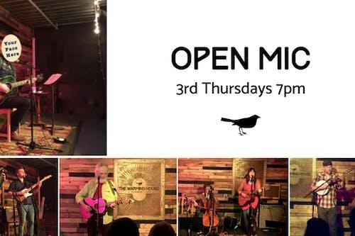 3rd Thursday Open Mic