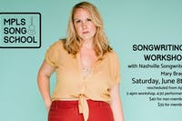 Songwriting Workshop & Show with Mary Bragg