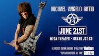 Michael Angelo Batio at Mesa Theater