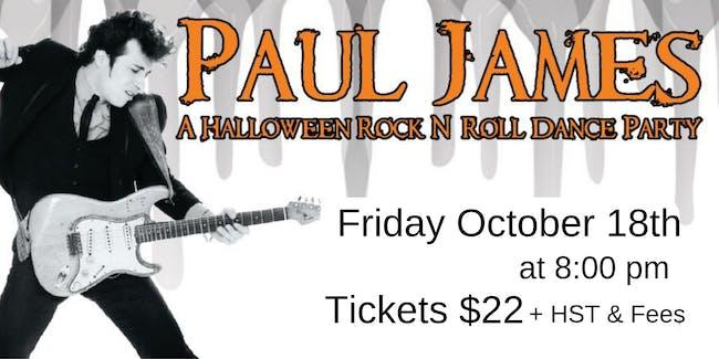 Paul James - A Halloween Rock N' Roll Dance Party