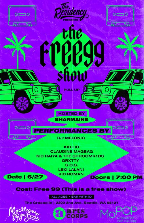 The Free 99 SHOW!!! @ The Back Bar