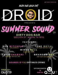 SUMMER SOUND '19 Featuring DROID