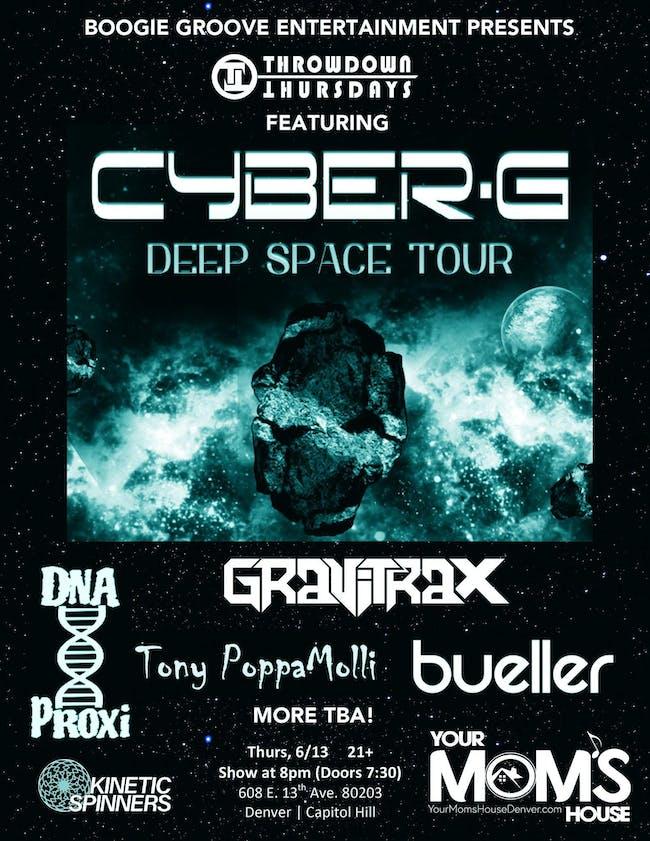 ThrowDown Thursdays: Cyber G w/ Gravitrax // Bueller // DNA Proxi // More!