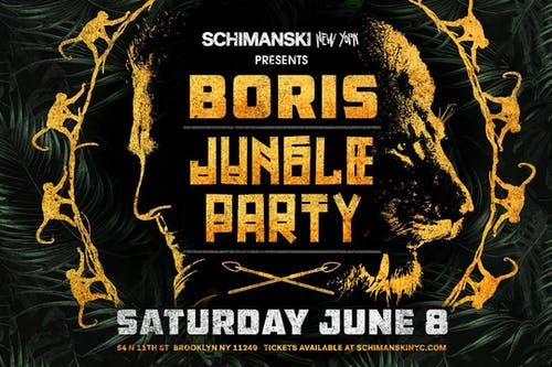 Boris Jungle Party