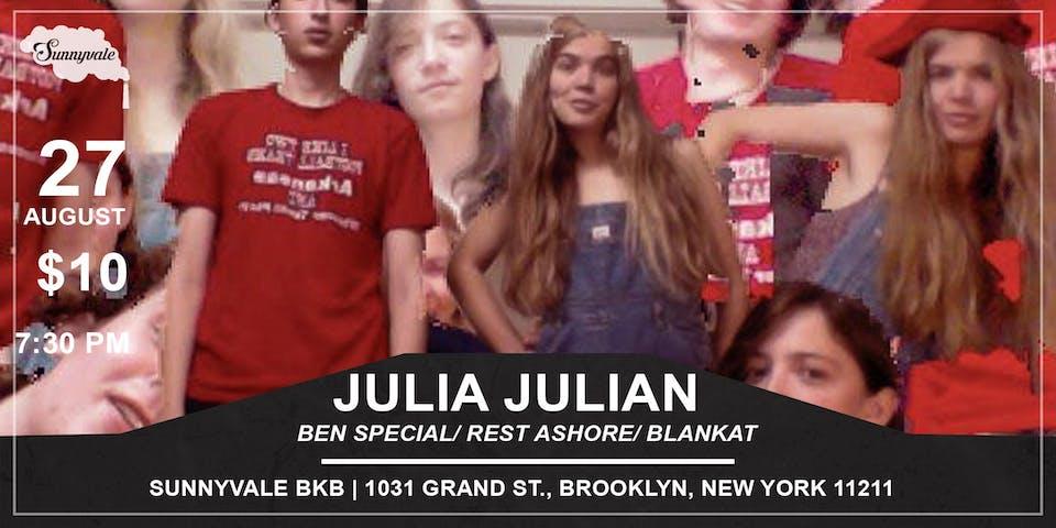 Julia Julian/Ben Special/ Rest Ashore/ Blankat